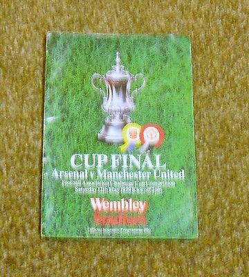 Football Programme-Arsenal V Manchester United (1979 Fa Cup Final)
