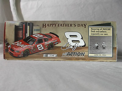 "Rare ""father's Day"" #8 D.earnhardt Jr. Monte Carlo.nascar1:24 Scale.action.bud"