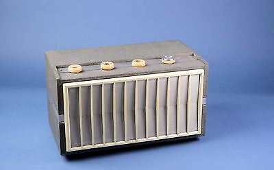 Decca SC100 valve amplifier for stereo with Decalian 4 Record player