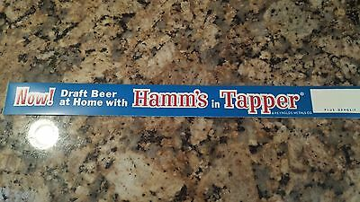 Hamm's BEER  in Tapper Replacement Label