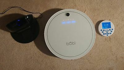 bObi by bObsweep Classic Robotic Vacuum Cleaner and Mop in Snow Colour