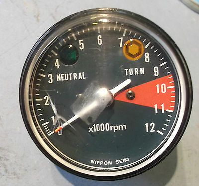 Honda Cb125S Clock Rev Counter Tachometer New Rare