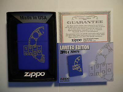 Zippo Millenium - Rare Limited Edition For Portugal