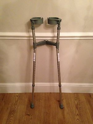 Elbow Crutches (adjustable Height)
