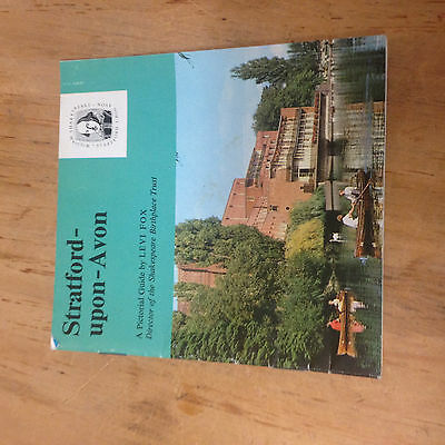 Stratford Upon Avon Pictorial Guide Booklet, 1975 Levi Fox