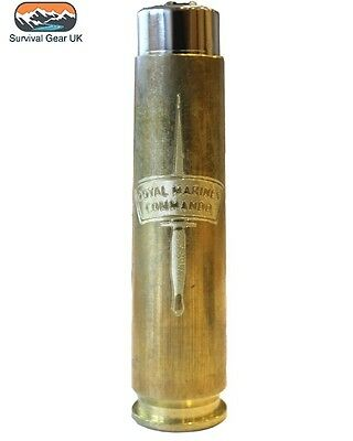 50 Cal Royal Marines Commando Regimental style Lighter Military - FREE DELIVERY