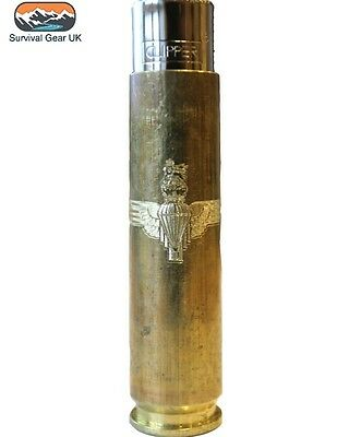 50 Cal Parachute Regimental style Lighter Military - FREE DELIVERY