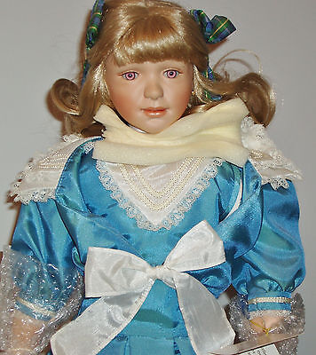 "Sonja Hartmann ""elaine"" Porcelain Doll - Limited Edition - Free Shipping"