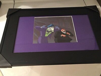 """The Joker Batman The Animated Series framed production cel """"old wounds"""""""