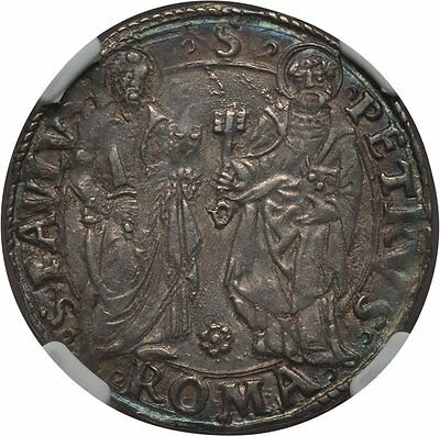 (1503-13) Italy Papal States Giulio Ngc Au55 Berman-574 Pastel Color
