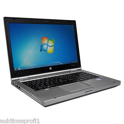 HP EliteBook 8460p 14 Zoll Notebook | Intel Core i5 2,6GHz | 4GB | 250GB | Win 7