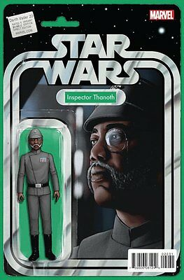 DARTH VADER ISSUE 20 - FIRST 1st PRINT - STAR WARS ACTION FIGURE VARIANT COVER