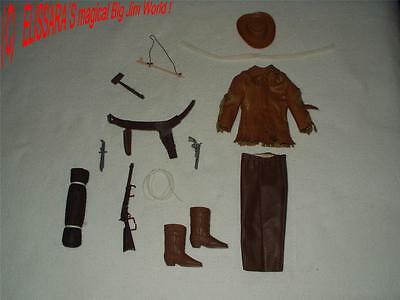 BIG JIM - Karl May Outfit : OLD SUREHAND / BUFFALO BILL ! Western / Indianer