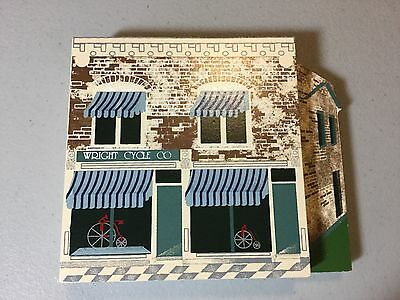 Wright Cycle Shop 3D Shelia's Shelf Sitter Signed 93 Good Condition