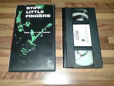 Stiff Little Fingers Punk 77 Ireland Megarare Video Vhs Tape
