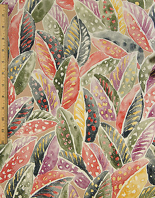 3 Double Wallpaper Rolls Partial Roll Vintage Tropical Leaves By