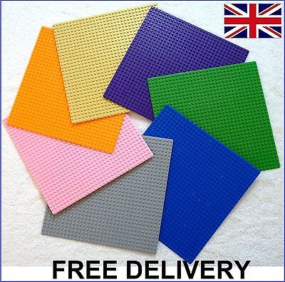 Large 32x32 Studs (SS) 25.5x25.5cm BASE PLATE Compatible Construction Blocks UK