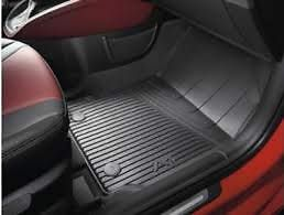 New & genuine Audi A1 Front and Rear Rubber floor mat set