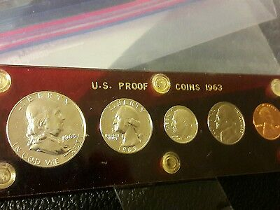 1963 United States Mint Silver Proof Set