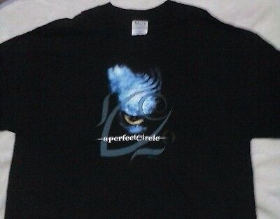 2000 Concert Tee Perfect Circle Licensed T-Shirt New XL