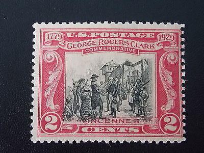 1929 150th Anniversary of Surrender of Fort Sackville MNH Stamp from USA