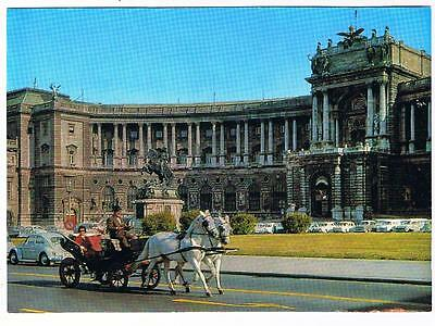 Austria Postcard Greetings From The Mountains  Bergen Horses Sleigh Snow
