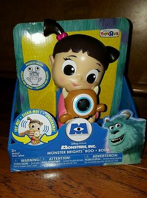 RARE Disney Pixar Monsters Inc. Monster Brights BOO Toys R US  NEW!!