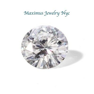 2.00 Ct Forever One Moissanite Loose Stone Round Cut 8 mm