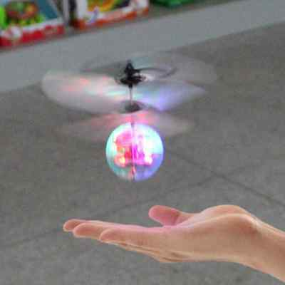 Children Kids Flying RC Ball Led Flashing Light Aircraft Helicopter As Gift  YU