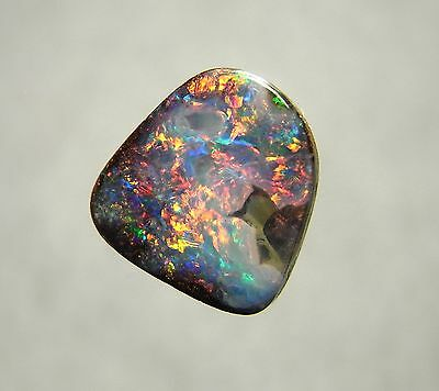 Australian Opal, Boulder Opal Solid Polished Loose Natural Gemstone 8101