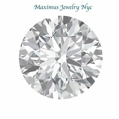 1.50CT Forever One Moissanite Loose Stone Round Cut 7.5mm