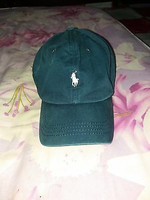 Vintage Polo Ralph Lauren Pony Cap Leather Strap Polo Bear Polo Spell Hat