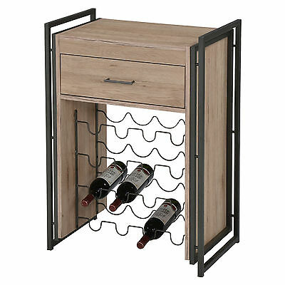 """Munich"" Collection Wooden Bar Console w/ 16 Bottle Wine Rack by !nspire 566-940"