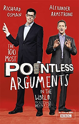 The 100 Most Pointless Arguments in the World, Good Condition Book, Osman, Richa