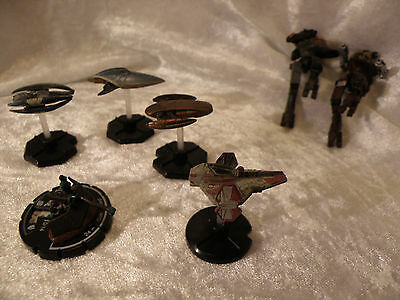 Star Wars And Whiz-Kids Fantasy Action Game Figures Lot Of 7 See Pictures