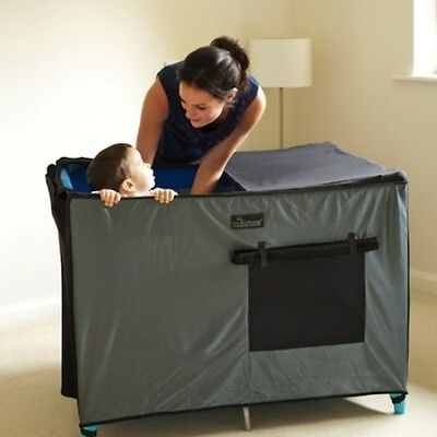 New SnoozeShade for Travel Cots Blackout Cover Free Express Shipping!
