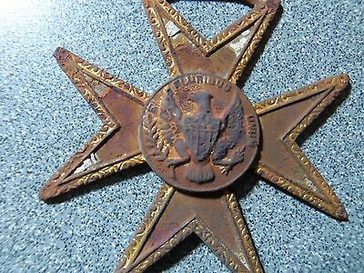 Masonic Star from Metal-detector find, Central Ohio.