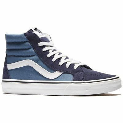 Vans Shoes Sk8-Hi Reissue Pasirisan / Blue Vn-04Okjui New Sale Navy