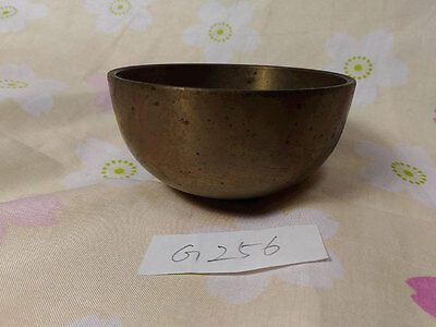 "SAHARI 3.051"" Japanese Vintage Buddhist Bell G256 Long and Short Wavelengths"