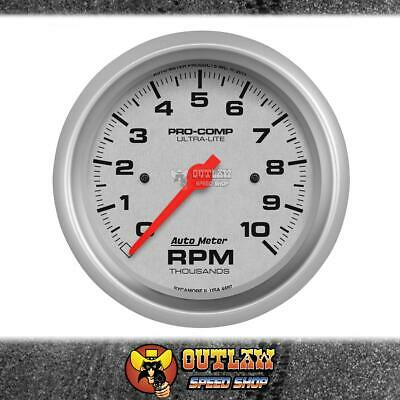 "Autometer 4497 Tachometer 10,000 Rpm Pro Comp Ultra-Lite 3.75""/85.7Mm In Dash"