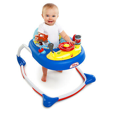 Disney CARS BABY WALKER Race to First Place Get Ready to Race w/Mater & Have FUN