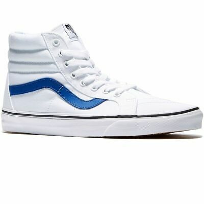 Vans Shoes Sk8-Hi Reissue True White / Tru Blue Vn-04Okjum New Sale Canvas