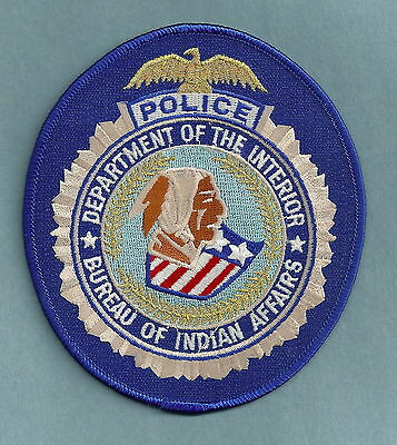 Bia Bureau Of Indian Affairs Police Patch