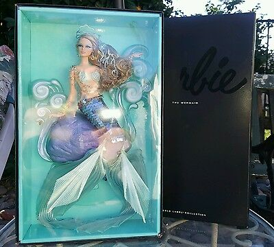 NRFB Gold Label THE MERMAID Barbie DOLL By Linda Kyaw 2012 SOLD OUT ltd 4300