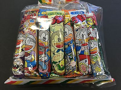 Umaibo Snacky Snack 11 Packs Dagashi Assort Pack Candy MADE IN JAPAN
