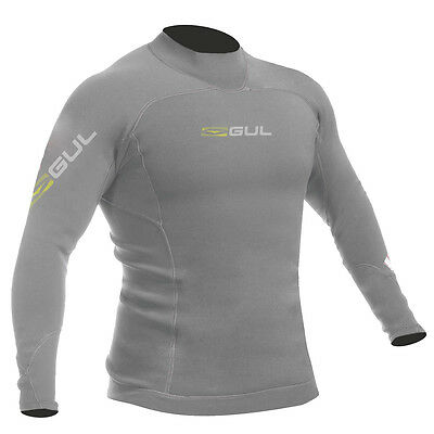 Gul Profil 0.5Mm Thermo Wetsuit Top 2017 - Gris / Marl