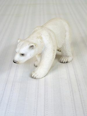 Schleich 2005 Germany Polar Bear Solid Hard Plastic Figurine
