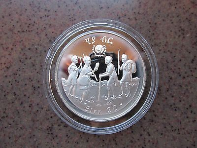 """""""International Year of the Child"""" Ethiopia Silver Proof 20 Birr Coin"""