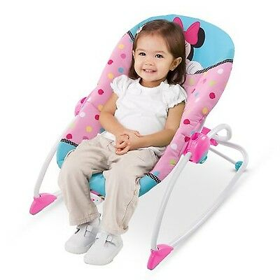 Disney Baby Minnie Mouse Peekaboo Infant To Toddler Rocker (NEW)