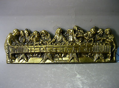 Vintage handmade solid brass ornament / wall hanging